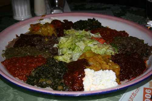 Ethopian Delights at the Blue Nile Restaurant, Seattle